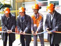 La ArcelorMittal a fost inaugurată prima linie de producție înființată după 1990, investiție de 15 milioane euro