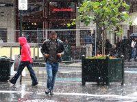 FOTOGALERIE. Septembrie, Bruxelles, un oraș foarte cald sub ploaie…