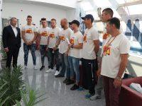 """Primarul Galațiului s-a întâlnit cu membrii echipajului """"Veteranii"""", câștigătorii cursei de canotci de la Tulcea"""