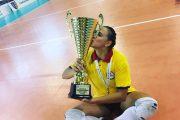 Interviu. Gălăţeanca Ana Maria Berdilă – cea mai tânără jucătoare de volei din România ajunsă în Liga Campionilor
