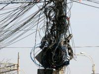 Dispar tonele de cabluri de pe stâlpi. Primele cartiere cu canalizații subterane, Mazepa și Dunărea