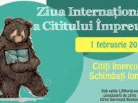 1 februarie : Ziua Internațională a Cititului Impreună la Librăria Donaris