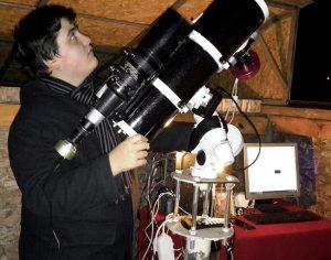 """Premieră națională la Schela: Andrei Stoian a descoperit patru stele variabile, """"Schela V2"""", """"V3"""", """"V4"""" și """"V5"""""""