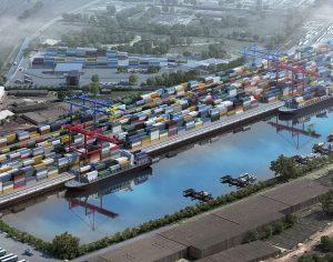Start în proiectul terminalului intermodal. Galațiul devine placa turnantă în transportul pe ruta Rhin-Main-Dunăre-Asia