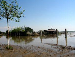 """""""Cod Galben"""" de inundaţii și în județul Galați, pe afluenții Bârladului"""