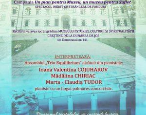 """RECITAL DE EXCEPŢIE în Galaţi, vineri: """"Pian la Sase mâini"""""""
