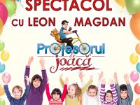 Joi, 24 mai Leon Magdan şi ale lui spectacole pentru copii – la Galaţi