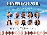 """De ziua IEI, la Galați, Conferința Națională """"Lideri cu Stil"""""""