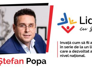"""INTERVIUL TĂU cu Ștefan POPA: """"Cum privește un lider un eșec? NU există!"""