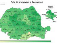 O singură medie de 10 la Brăila şi una la Galaţi. Rezultate bacalaureat 2018: județul cu cele mai bune rezultate la BAC este Cluj
