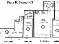 Spaţiu de închiriat în Complex IC FRIMU – 114,4mp