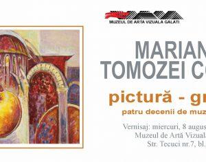 """Miercuri, 8 august 2018 : Vernisajul expoziției ,,Mariana Tomozei Cocoș – patru decenii de muzeografie"""""""